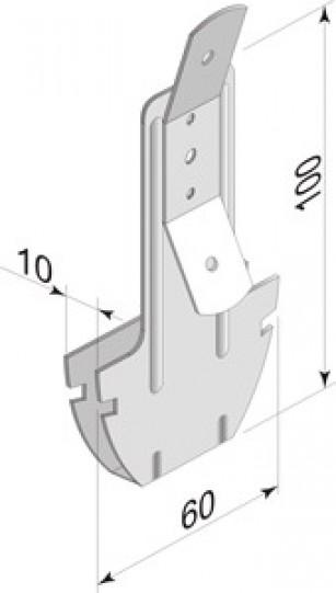 подвес потолочный для гипсокартона термобельем